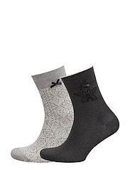 socky sock - LIGHT GREY MELANGE