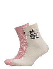 socky sock - MILKY PINK