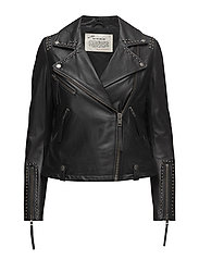 square dance jacket - ALMOST BLACK