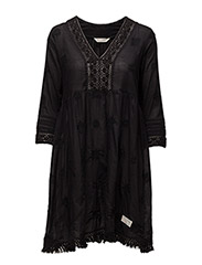 endless journey dress - ALMOST BLACK