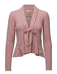 solid canna cardigan - PINK POWDER