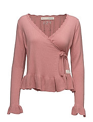jitterbug cardigan - PINK POWDER