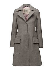 wild coat - LIGHT GREY MELANGE