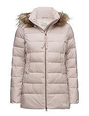winterland jacket - SMOKE ROSE