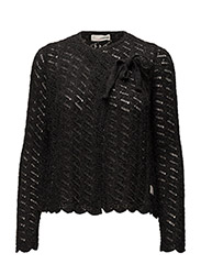 yes yes yes cardigan - ALMOST BLACK