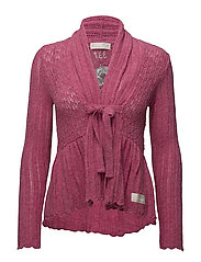 top-drawer cardigan - BRIGHT ROSE
