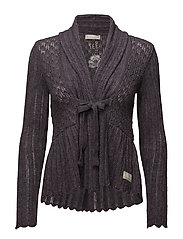 top-drawer cardigan - MYSTIC MAUVE