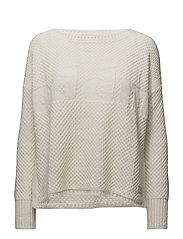 improvise pullover - LIGHT CHALK