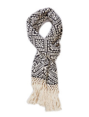 hitch-hike scarf - DARK GREY