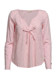 re-feel blouse - LIGHT PINK
