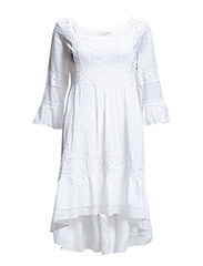 harriet dress - BRIGHT WHITE