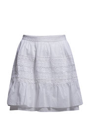 harriet skirt - BRIGHT WHITE
