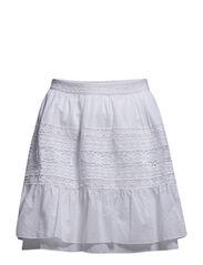 harriet skirt - BRIGHT WHITE