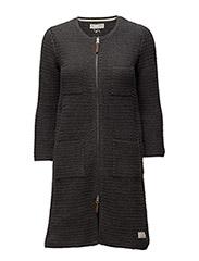 hell yeah crochet coat - ASPHALT