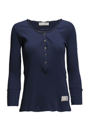 grampa 3/4 shirt - INDIGO