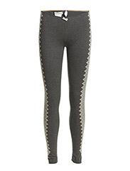 golden gauge slim-fit leggings - ASPHALT