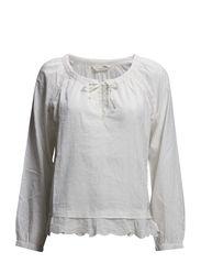 door opener blouse - LIGHT CHALK