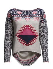 it-knit sweater - MULTI