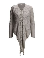 lets do it wrap cardigan - PORCELAIN
