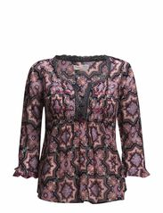amor blouse - BRIGHT PINK
