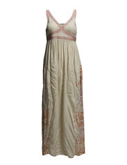 betty long dress - PORCELAIN