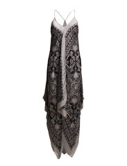 ida dress - LIGHT PORCELAIN