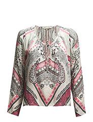 fast-lane blouse - STRONG PINK