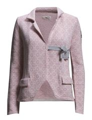 lovely knit jacket - MID PINK