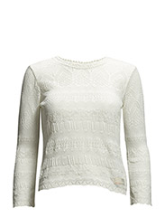 hello knitty cardigan - LIGHT CHALK