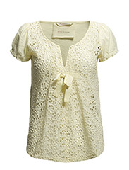 all in blouse - LIGHT YELLOW
