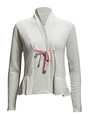 canna cardigan - LIGHT GREY