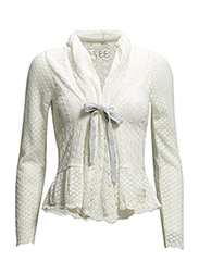 top-drawer cardigan - LIGHT CHALK