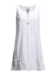 see-world dress - BRIGHT WHITE