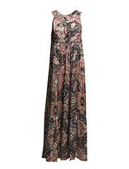 b.l.t long dress - ALMOST BLACK