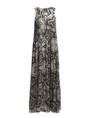 b.l.t long dress - ASPHALT