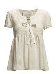 twenty-four-seven blouse - PORCELAIN