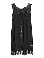 pole position short dress - ALMOST BLACK