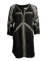 ogilvyan moments short dress - ALMOST BLACK