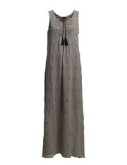 animal farm moments long dress - GREY