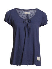 slub s/s top - MOOD INDIGO