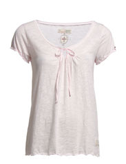slub s/s top - ROSE