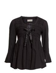 remix blouse - ALMOST BLACK