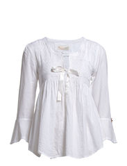 remix blouse - WHITE