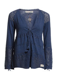 love reactions cardigan - MOOD INDIGO