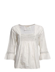 bamboozle blouse - LIGHT PEARL