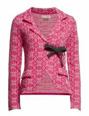lovely knit jacket - PINK