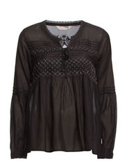 smasher blouse - ALMOST BLACK