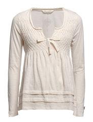 absentee blouse - VINTAGE PASTEL