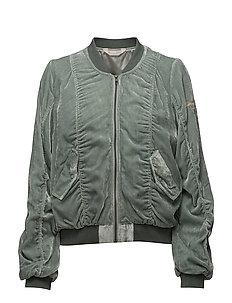 absolute jacket - AQUA GREY