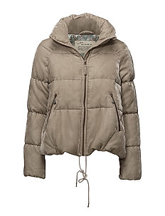 embrace velvet jacket - WARM SAND